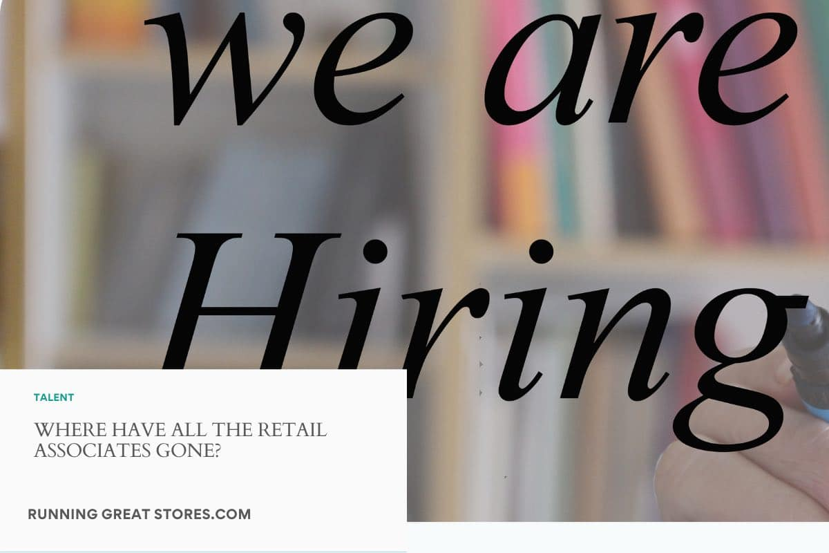 where have all the retail associates gone?