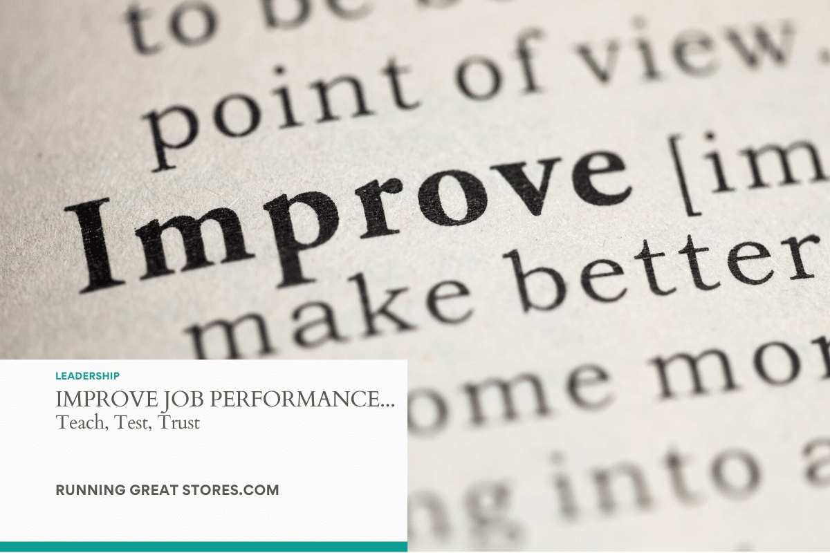 improve job performance